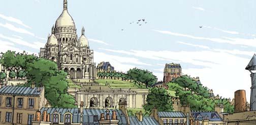 bande dessinee paris